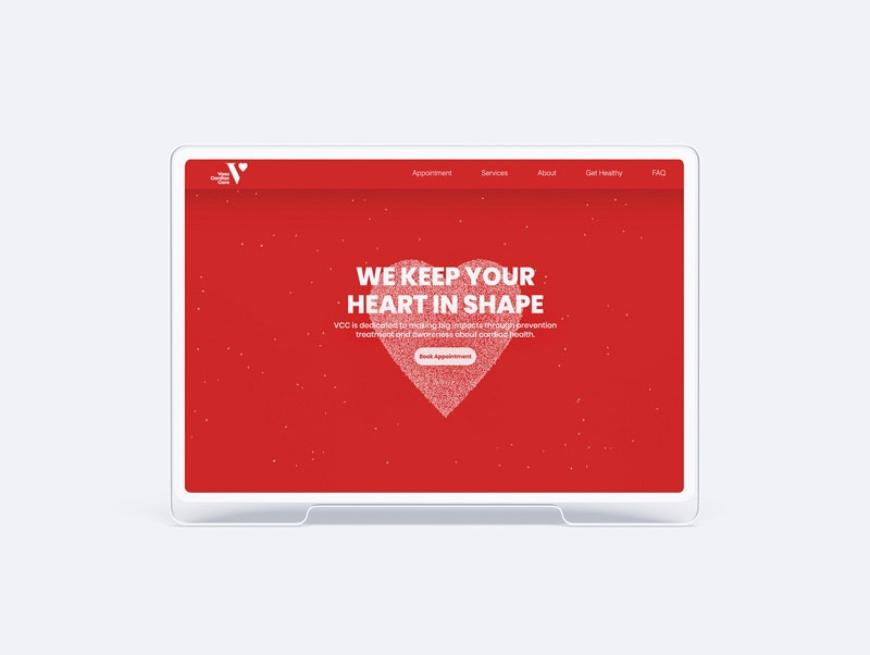 We keep your heart  in shape